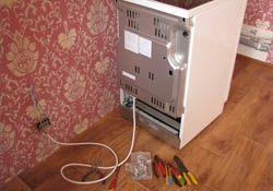 Подключение электроплиты. Батайские электрики.