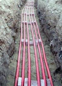 прокладка силовых кабелей. Батайские электрики.